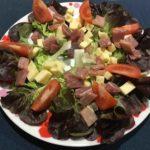 Salade au jambonneau
