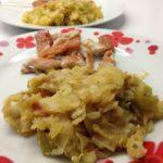 Poêlée de poulet et fondue de poireaux