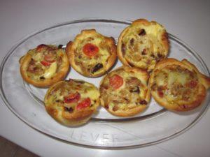 Recette Quichettes au thon et parmesan