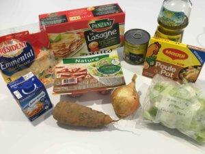Recette cannellonis aux legumes et aux lardons