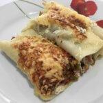 Cannellonis aux légumes et lardons