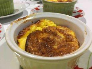 Recette flan au jambon
