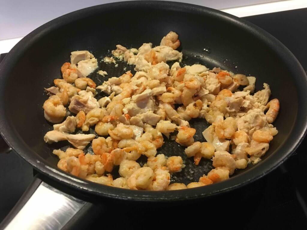 Recette pain au saumon et aux crevettes
