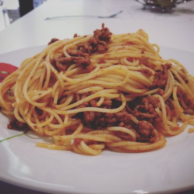 Recette spaghettis a la bolognaise