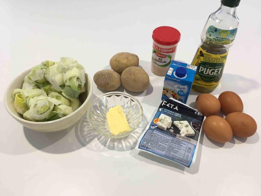 Recette bouchees de poireaux et pommes de terre