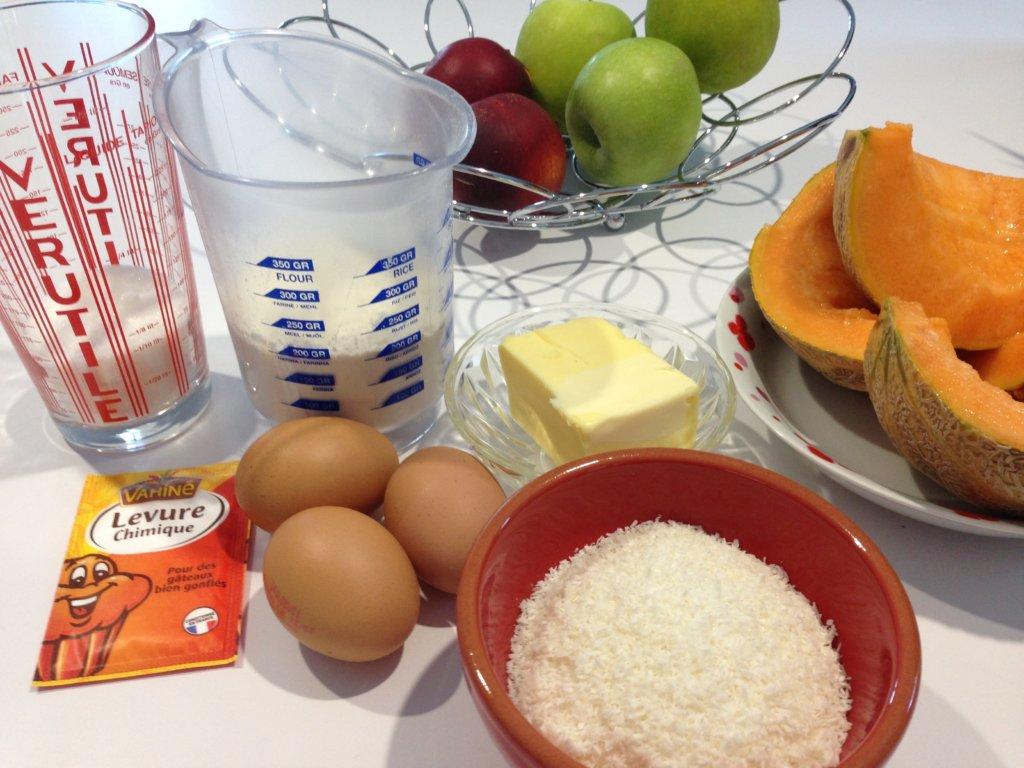 Recette brioche coco et salsa de fruit
