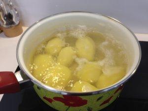Recette croquettes de pommes de terre aux herbes