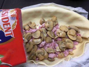 Recette-feuillete-aux-champignons-et-au-jambon