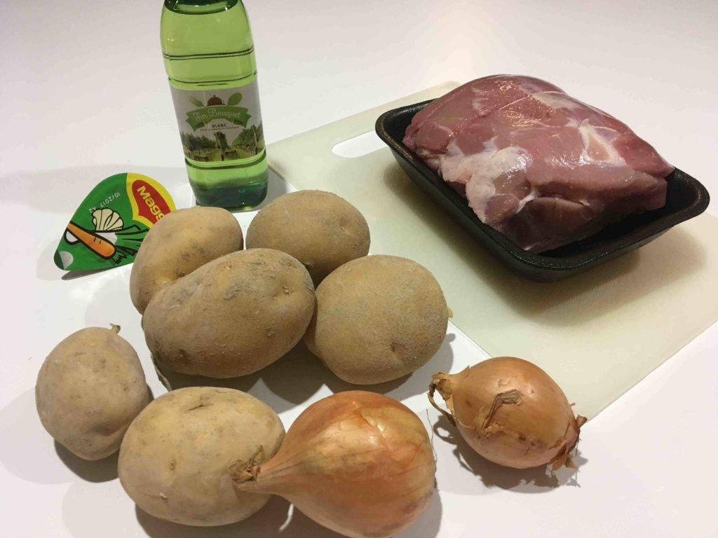 Recette filet de porc aux patates douces