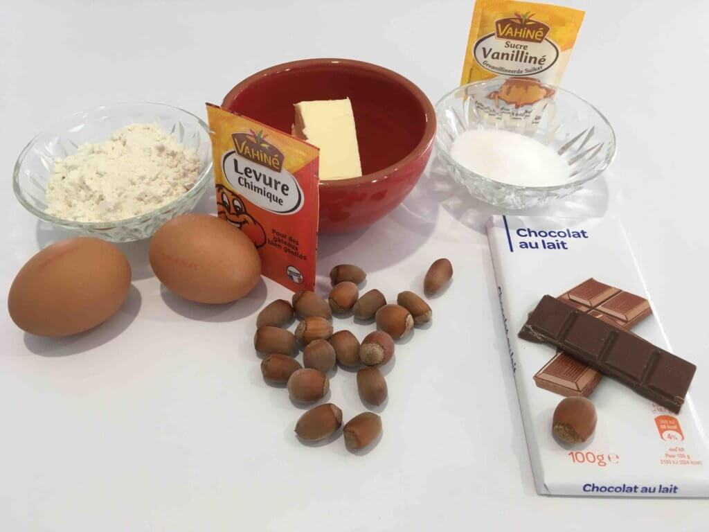 Recette noisettines au chocolat