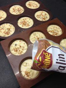 Recette muffins pommes chocolat et noisettes