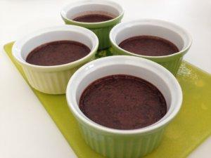 Recette petits pots de creme au chocolat