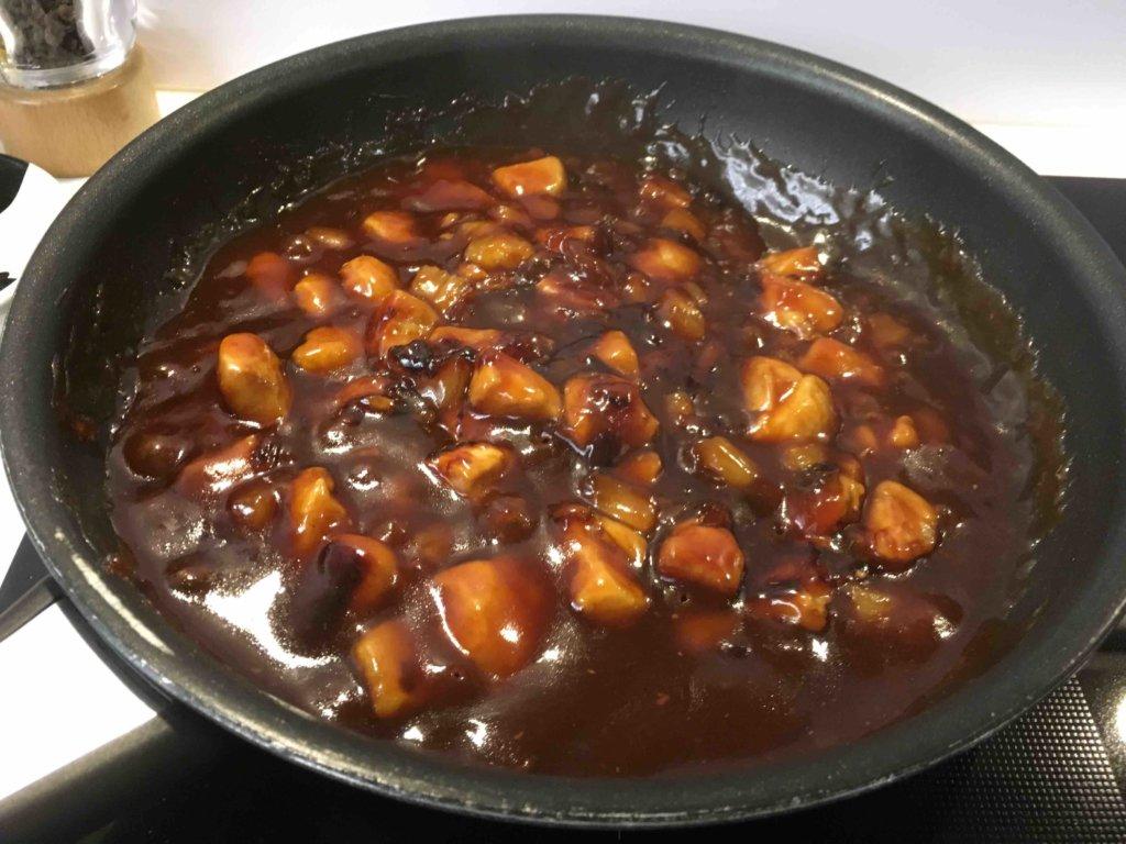 Recette poulet sauce aigre douce