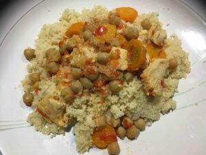 Recette couscous de poulet