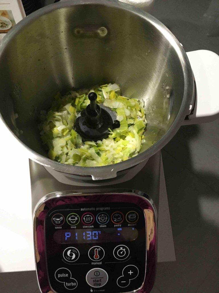 Recette soupe de petits pois au jambon