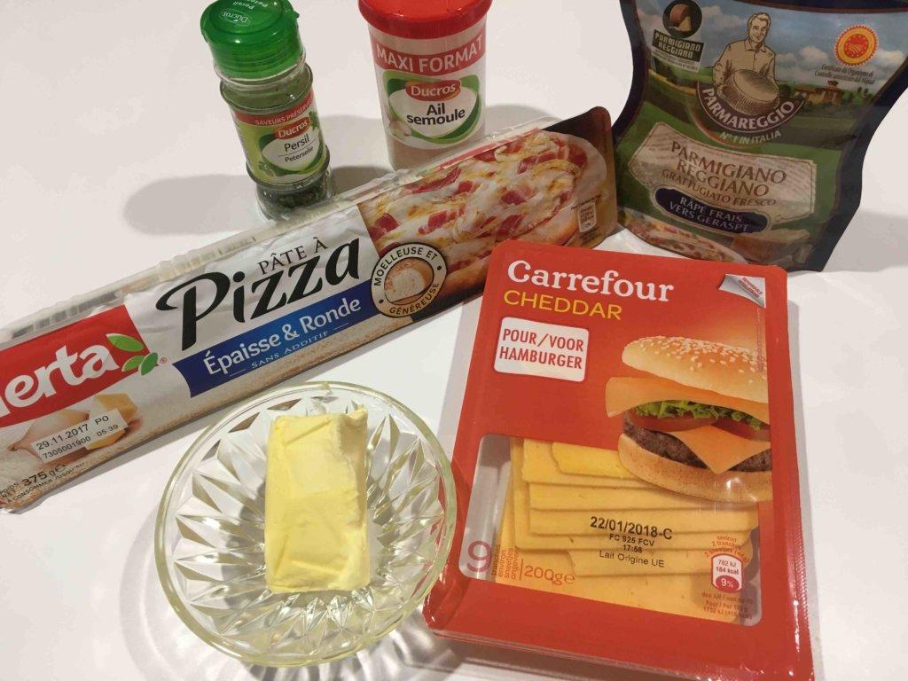 Recette boulettes pizza a l ail et au fromage