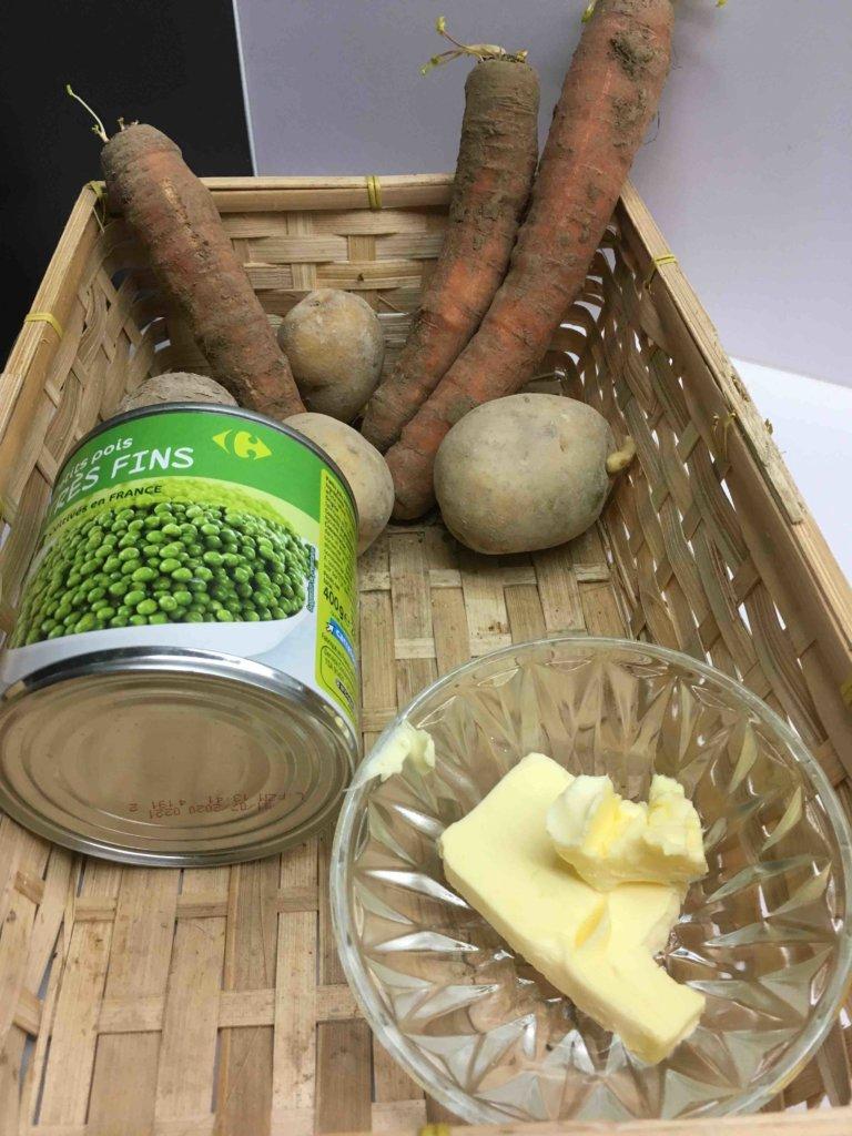 Recette jardiniere de legumes