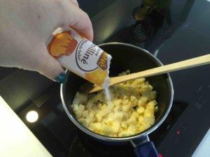 Recette verrines aux pommes