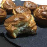 Muffins lardons et chèvre