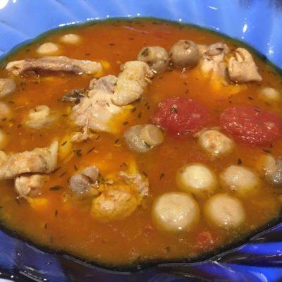 Poulet-a-la-tomate-et-aux-champignons