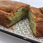 Cake aux fines herbes et à la mozzarella