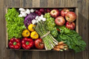 fruits et legumes de printemps