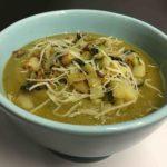 Soupe de carottes et courgettes