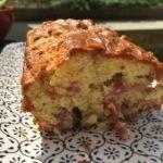 Cake aux oignons et aux lardons