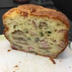 Cake au jambon et aux champignons de Paris