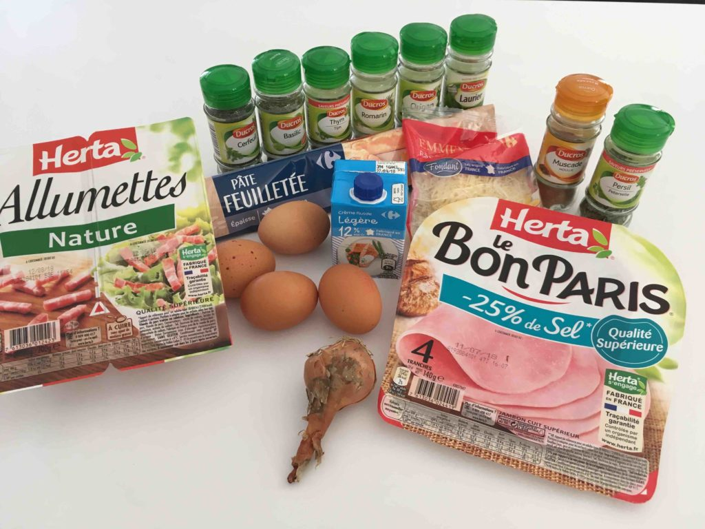 Recette-quiche-au-bouquet-garni-lardons-et-jambon
