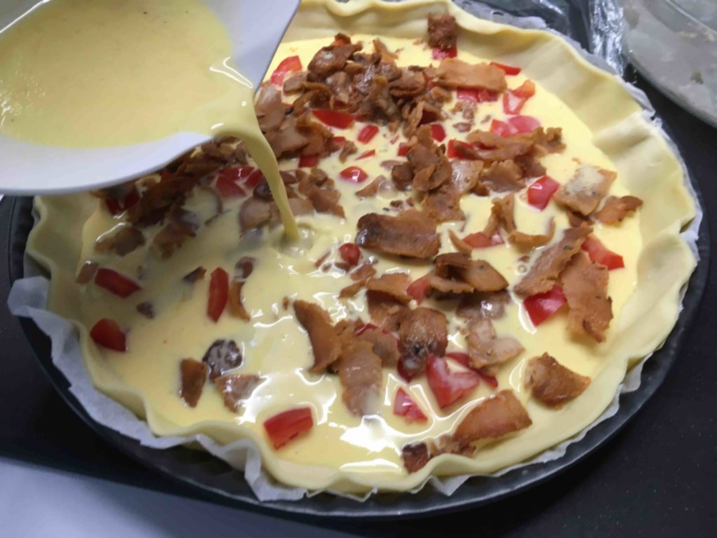 Quiche-kebab
