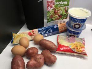 Recette quiche paysanne aux pommes de terre