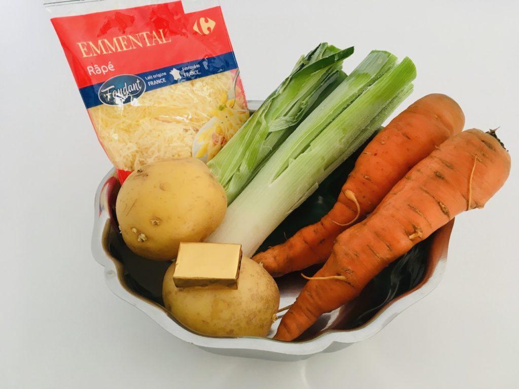 Recette soupe de légumes