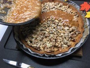 Recette tarte aux noix
