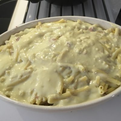 Recette gratin de macaroni au thon