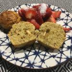 Muffins aux pistaches et chocolat blanc